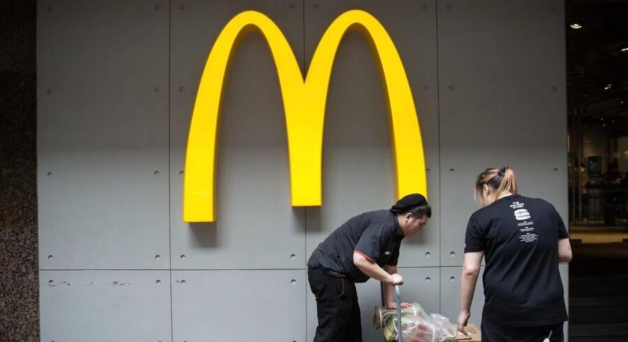 McDonald's stopper som sponsor for De Olympiske Lege.