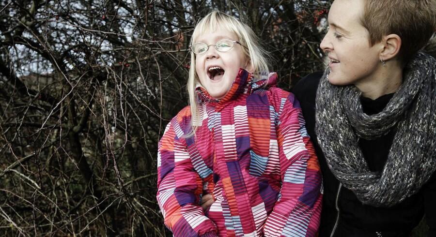 Gitte er en af de fire mødre, der har tabt sag mod sædbanken Nordic Cryo Bank. Hendes nu otte-årige datter Sophie, har den medfødte genetiske sygdom NF1, som hun har arvet fra sin donorfar.