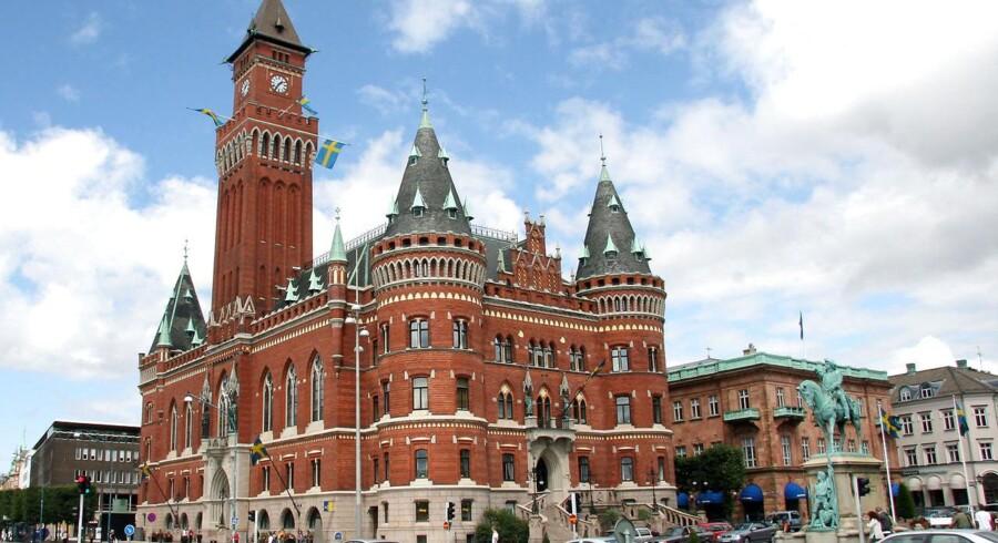 Rådhuset i Helsingborg, hvor embedsmændende har fået en træls sag præsenteret. Foto: Brian Bergman