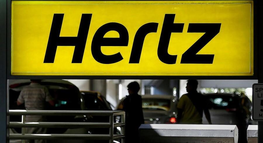 Arkivfoto: Hertz. Foto: REUTERS / Carlo Allegri