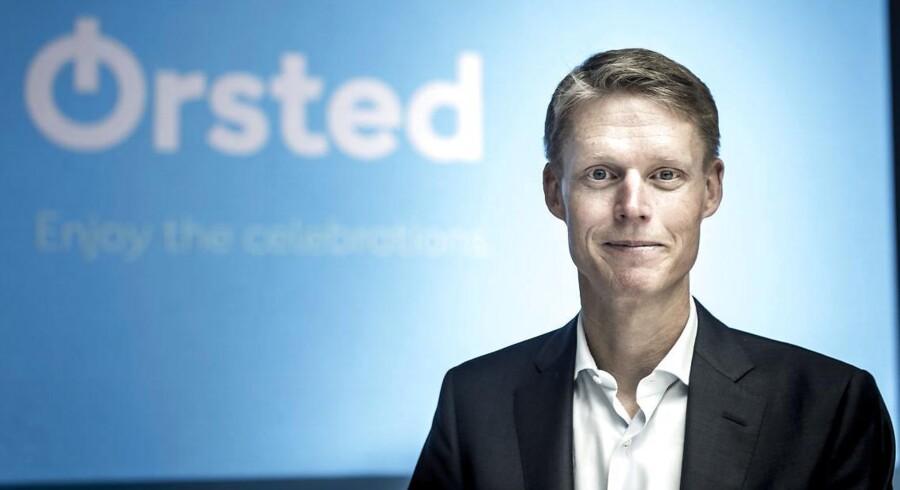 Energikæmpen Ørsteds topchef Henrik Poulsen