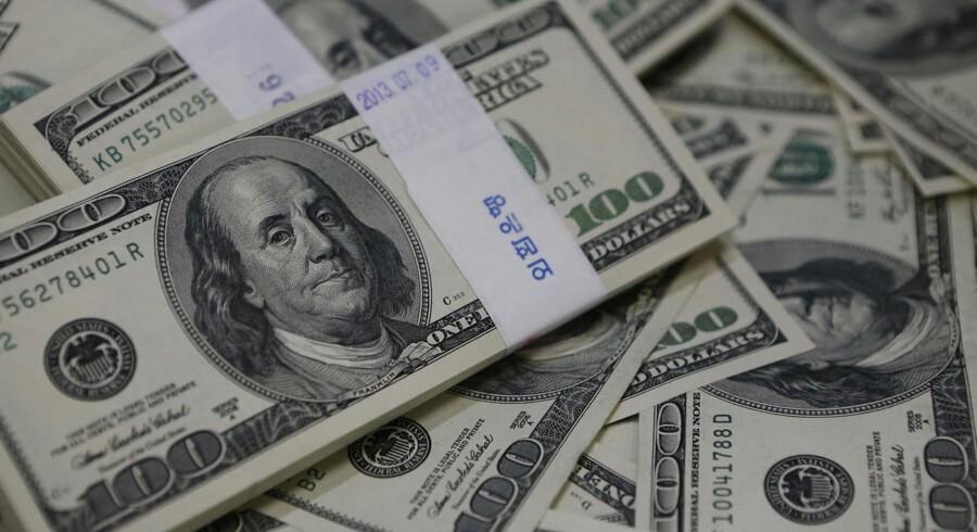 USA er blevet en ren pengemaskine for Danmark, hvor vi skovler fremmed valuta ind som aldrig før.