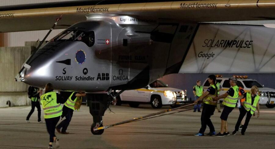 Arkivfoto: Solar Impulse 2.