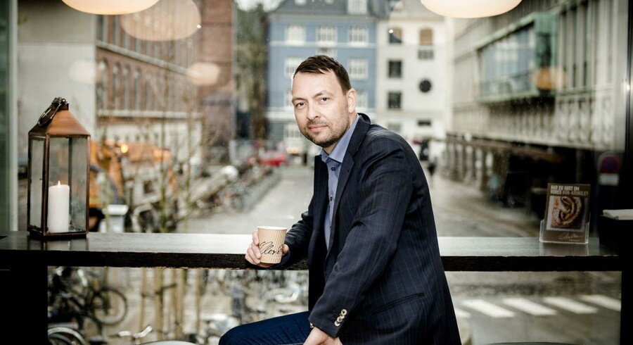 Jesper Friis, direktør for Lagkagehuset.