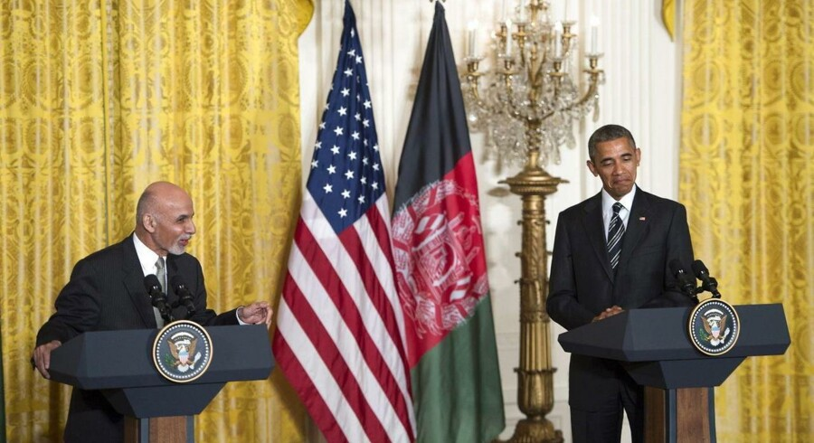 Da Afghanistans præsident, Ashraf Ghani, besøgte USA, fik han ikke et løfte fra Obama om meget længere amerikansk tilstedeværelse i sit land, som han ellers havde ønsket det.
