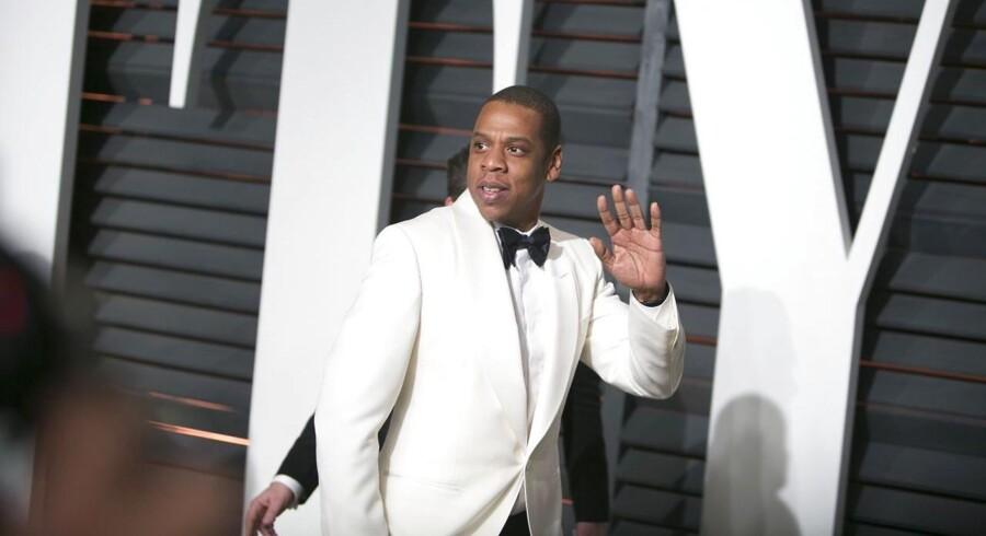 Jay-Z vil revolutionere musikbranchen med udgangspunkt i den norske musiktjeneste Wimp. Foto: AFP PHOTO/ADRIAN SANCHEZ-GONZALEZ/Scanpix.