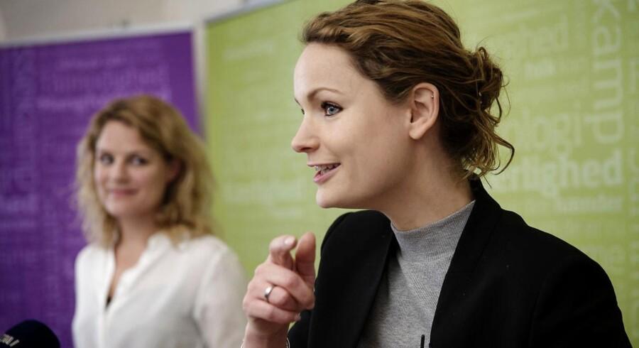 Pernille Skipper afløser Johanne Schmidt-Nielsen som politisk ordfører i partiet Enhedslisten.
