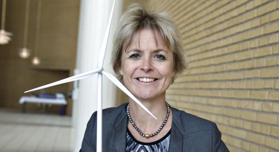 Lykke Friis blev i 2014 valgt ind i vindmølleproducenten Vestas' bestyrelse. Det skete på generalforsamlingen i Musikhuset i Aarhus. Arkivfoto: Henning Bagger, Scanpix