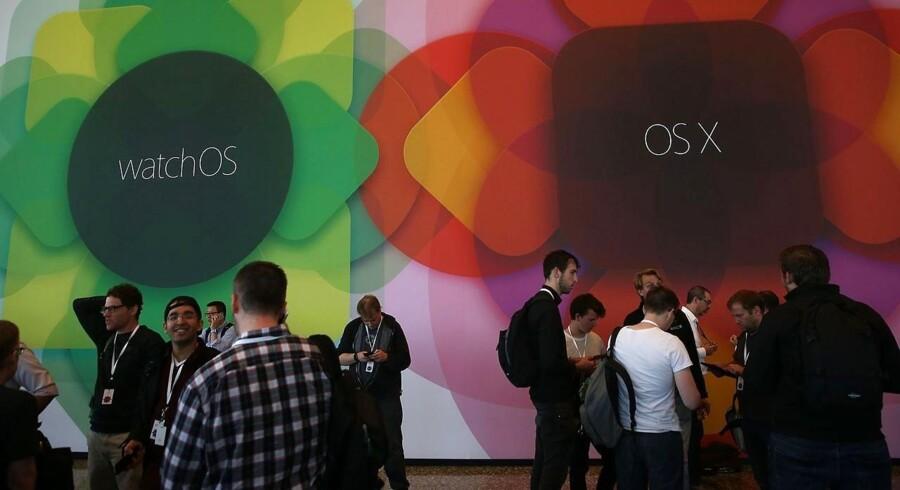 Der var spredt klappen på Apples konference i San Francisco i denne uge, da det nye styresystem til Apple Watch blev præsenteret.