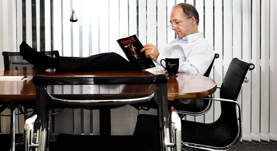 Peter Buhl Jensen hviler ud. Han har ellers haft fart på hele livet. Foto: Søren Bidstrup