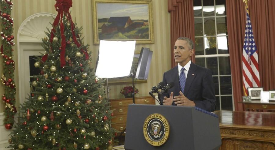 præsident Obama understregede i sin tale, at USA ikke vil angribe IS i Syrien med landstyrker, men at kampen på landjorden skal foregå med lokale kræfter og andre muslimske lande.