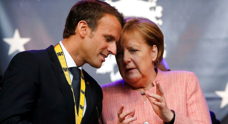 Frankrigs præsident Macron vil reformere eurozonen og har ventet længe på et tysk svar på sine planer. I et interview med avisen Frankfurter Allgemeine Zeitung har Merkel nu løftet sløret for konkrete tyske forestillinger om fremtidens EU.