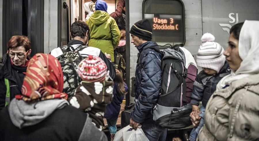 Den svenske grænsekontrol har blandt andet til formål at få asylansøgere til at vælge Danmark.