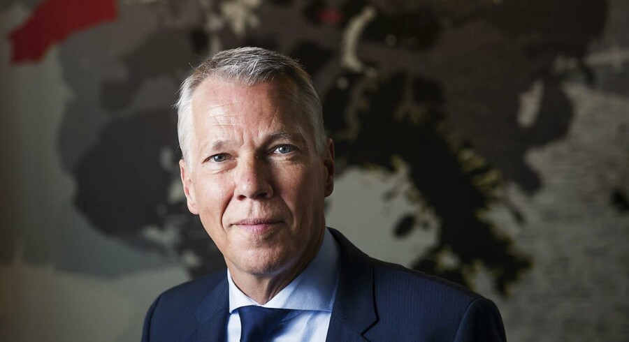 ARKIVFOTO: CEO Lars Marcher fra AMBU