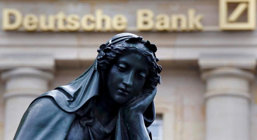 Deutsche Bank udgør ifølge IMF den største risiko mod det globale finansielle system.