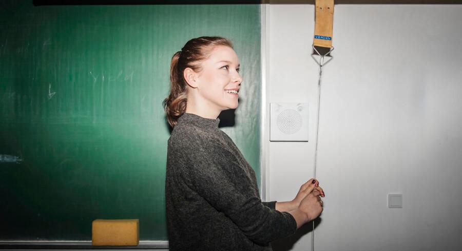 Signe Christensen, elev i 3.Z på Nørre Gymnasium i Brønshøj.