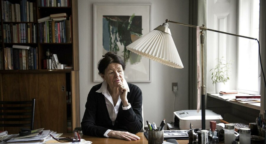 Grethe Rostbøll, født 1941, er forfatter, teolog og mag.art. Hun har bl.a. været kommentator og klummeskribent på Berlingske Tidende, formand for Modersmål-Selskabet og konservativ kulturminister. Foto: Mads Joakim Rimer Rasmussen.