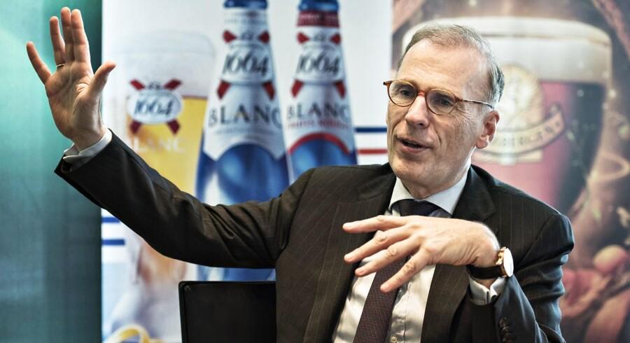 Carlsbergs topchef Cees 't Hart