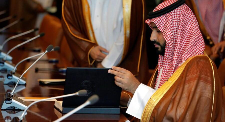 Den saudiske kronprins Mohammed bin Salman har indikeret, at kongeriget har intentioner om at øge antallet af investeringer i Silicon Valley