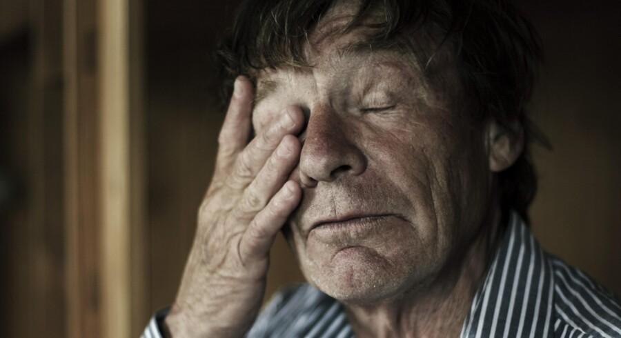 Arkivfoto: I sidste måned fik Eske Holm en blodforgiftning, der mandag forårsagede hans død, skriver Berlingske.