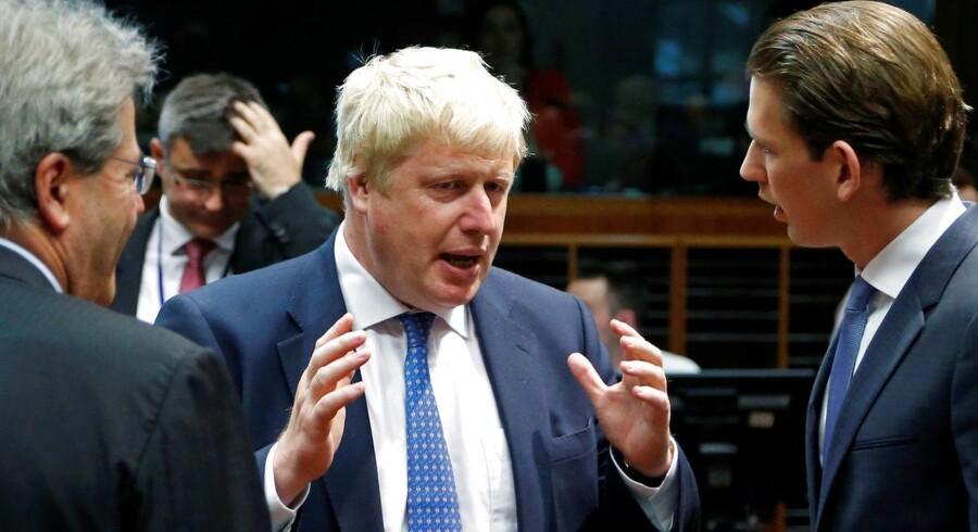 Boris Johnson var en af de førende fortalere for at forlade EU op til den britiske folkeafstemning.