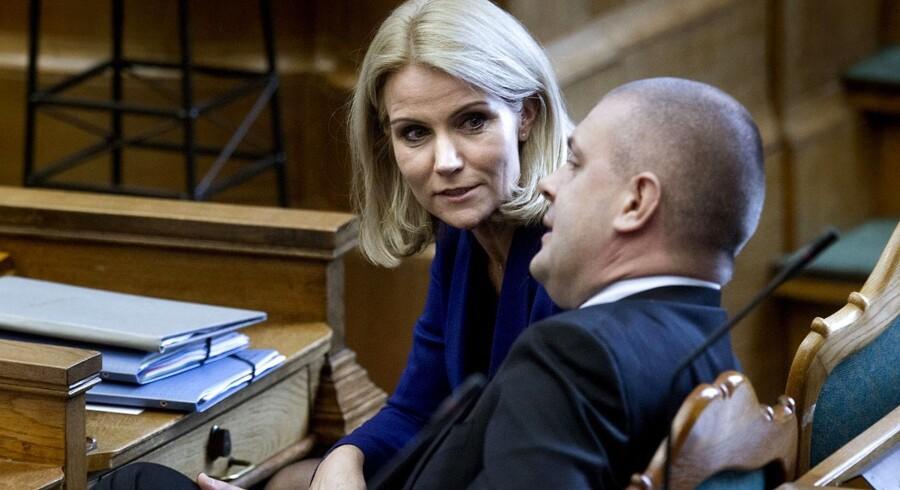 Helle Thorning-Schmidt og finansminister Bjarne Corydon topper listen over landets mest magtfulde.