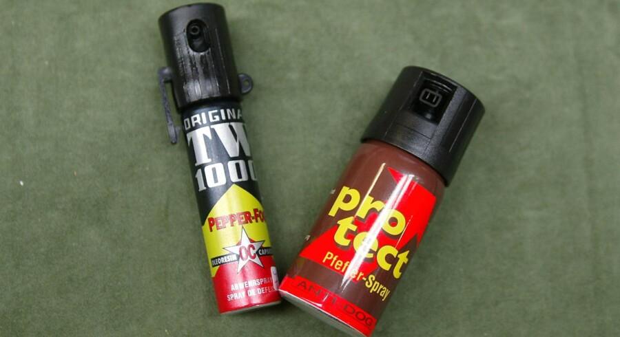 I Det Kriminalpræventive Råd mener man, at peberspray vil avle mere vold. Alligevel vil DF lovliggøre salg i supermarkederne.
