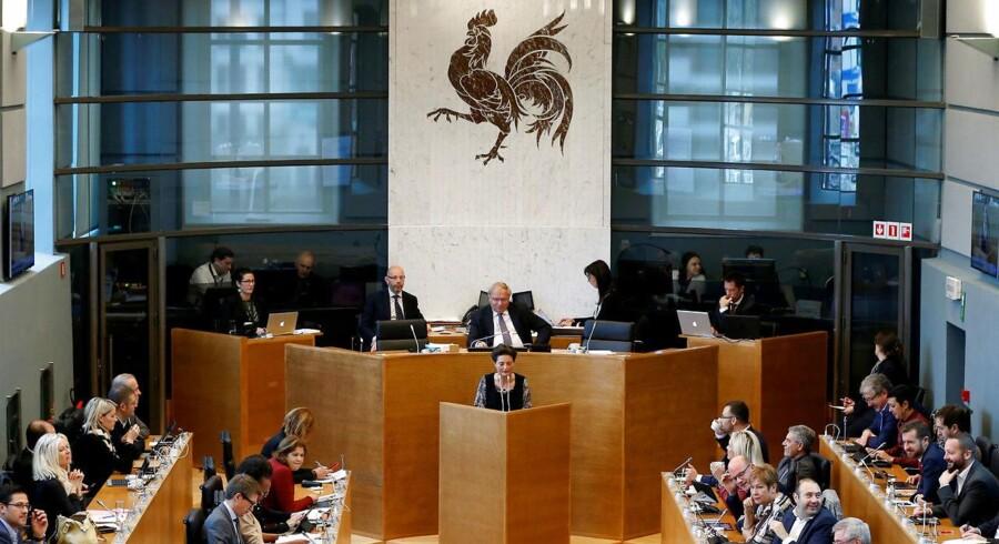 Et endeligt ultimatum fra EU om accept af en frihandelsaftale med Canada bliver afvist af den belgiske region Vallonien.