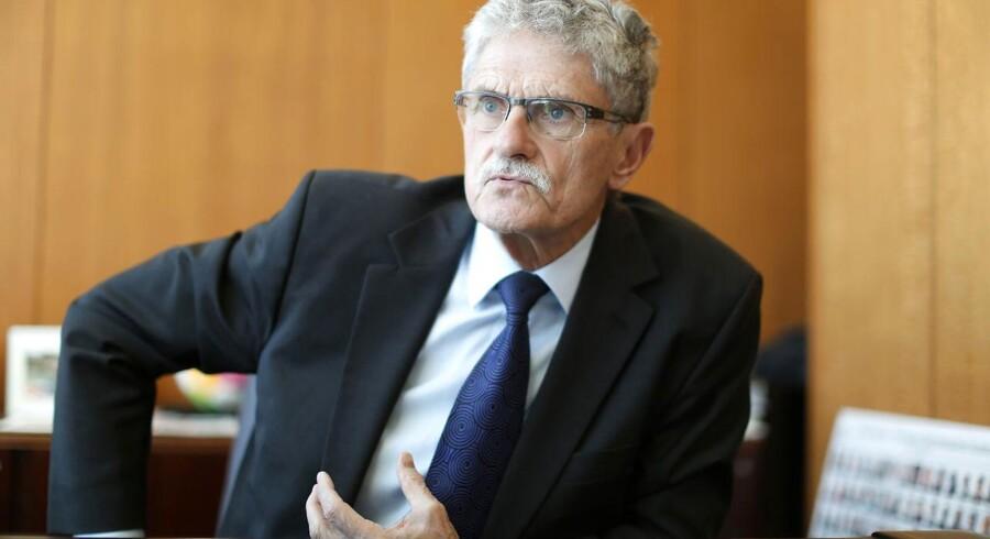 Mogens Lykketoft fotograferet på sit kontor i FNs hovedkvarter i New York.