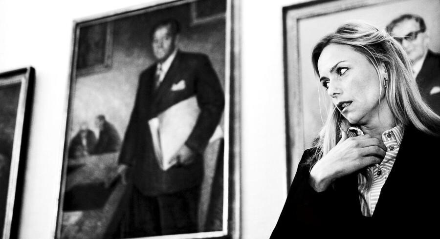 Den tidligere politiker for Ny Alliance og Venstre Malou Aamund kan være et eksempel på, at borgerlige politikere generelt er flottere end poltikere på venstrefløjen.