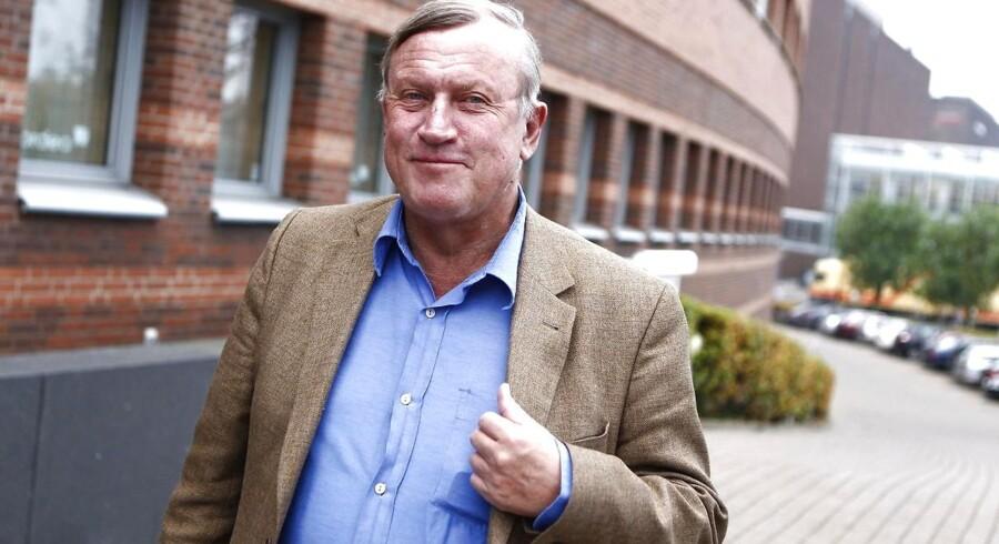 Peter Brixtofte ankommer til retten i Lyngby tirsdag den 25. oktober.