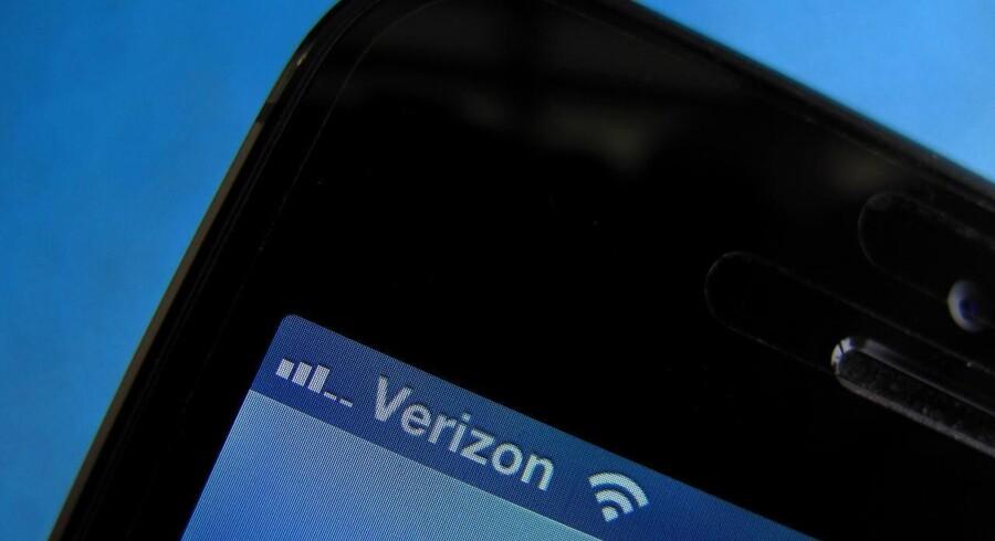 Telegiganten Verizon brugte ulovlige supercookier til at indsamle oplysninger om brugernes internettrafik og får nu en bøde. Arkivfoto: Mike Blake, Reuters/Scanpix