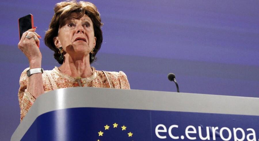 I morgen fremlægger EUs konkurrencekommissær, hollænderen Neelie Kroes, en lovpakke med en række forslag, der skal skabe et digitalt indre marked. Roaming er en del af pakken, der samlet skal sikre, at EU bevæger sig nærmere et digitalt indre marked.