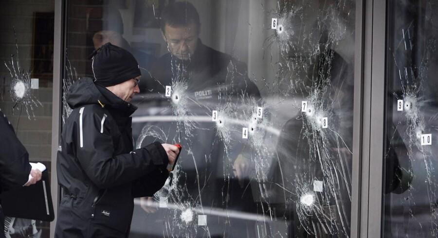 Kulturhuset Krudttønden blev 14. februar udsat for et terrorattentat.