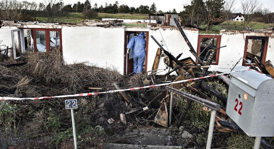En 34-årig, tidligere deltidsbrandmand er blevet idømt fem års fængsel for en række brande i Fjerritslev-området (Foto: Henning Bagger/Scanpix 2017)