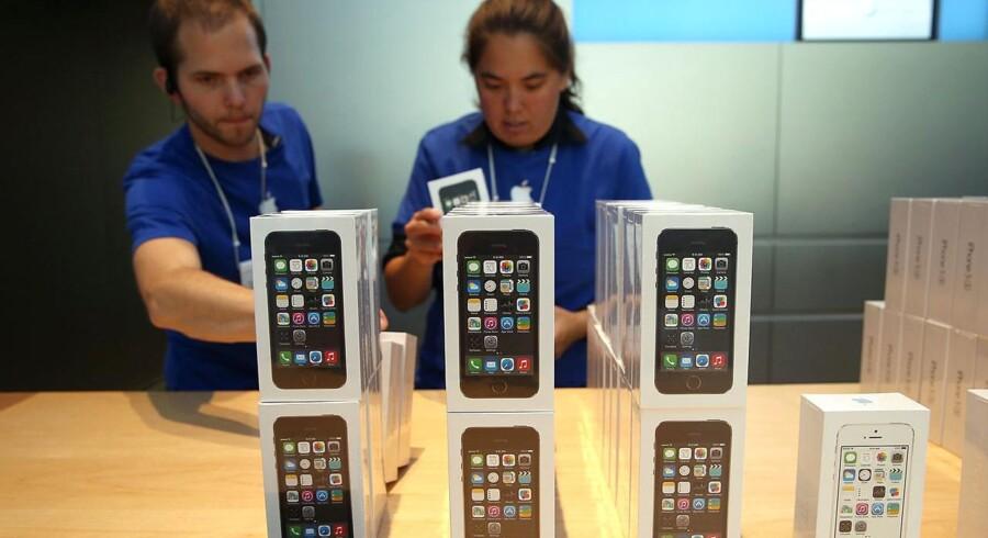 TDC, som er Danmarks største teleselskab, har presset Apple - men uden held.