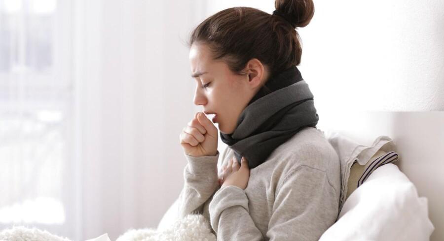 Rekordmange er blevet syge af lungebetændelse.