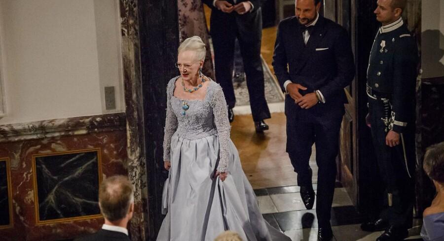 ARKIVFOTO. Dronning Magrethes fødselsdag medvirkede til, at kongehuset i 2015 måtte notere et minus i regnskabet.