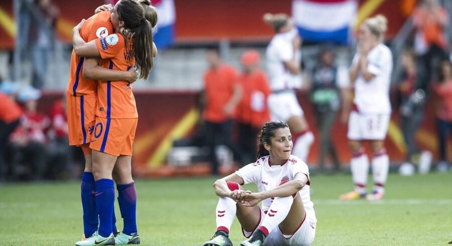 Søndag d. 6. august 2017. Fodbold. Kvinde EM Finale i Enschede. Holland vs. Danmark. Nadia Nadim, Danmark. (Foto: Anders Kjærbye/Scanpix 2017)