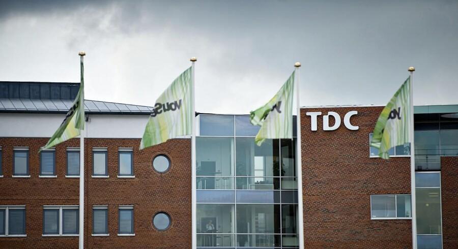 Over ti procent af aktierne i TDC-koncernen ligger nu hos en amerikansk investor. Arkivfoto: Torkil Adsersen, Scanpix