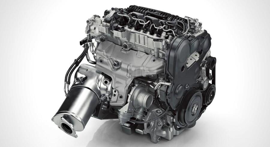 Den firecylindrede dieselmotor i bl.a. V90 bliver den sidste fra Volvo