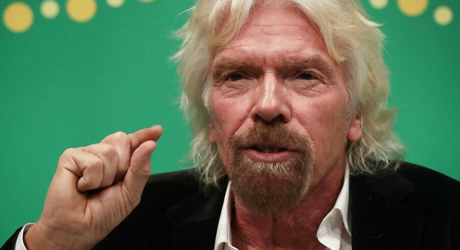 Arkivfoto: Richard Branson.