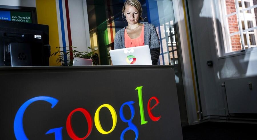 Det går pænt frem for Google i Danmark. Men selskabet kan ikke følge med udviklingen på globalt plan.