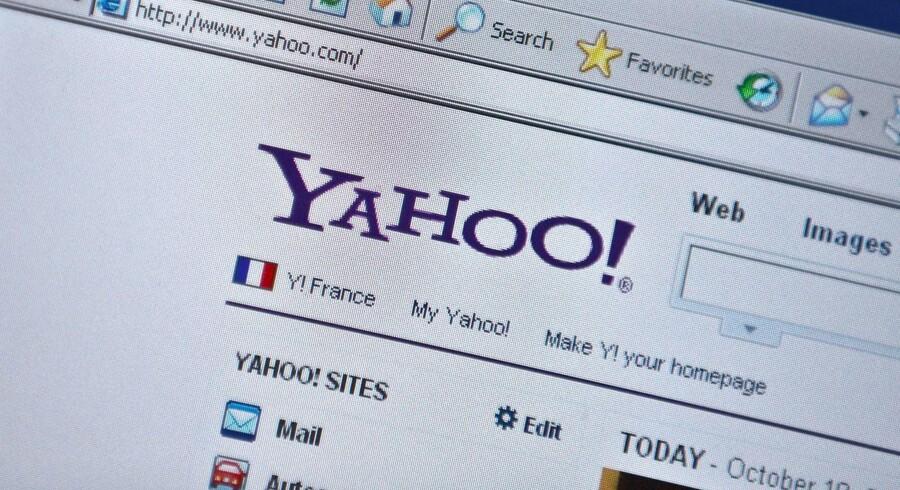 Internetpioneren Yahoo landede en indtjening per aktie på 9 cent, mens analytikernes havde sat næsten op efter en indtjening på 10 cent per aktie.