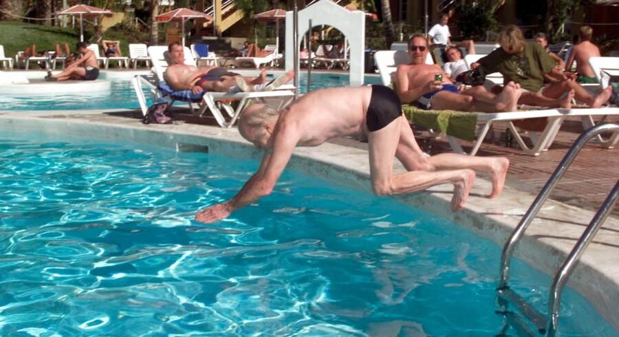 Pensionister nyder pensionslivet på Gran Canaria. Arkivfoto: Bent Midstrup