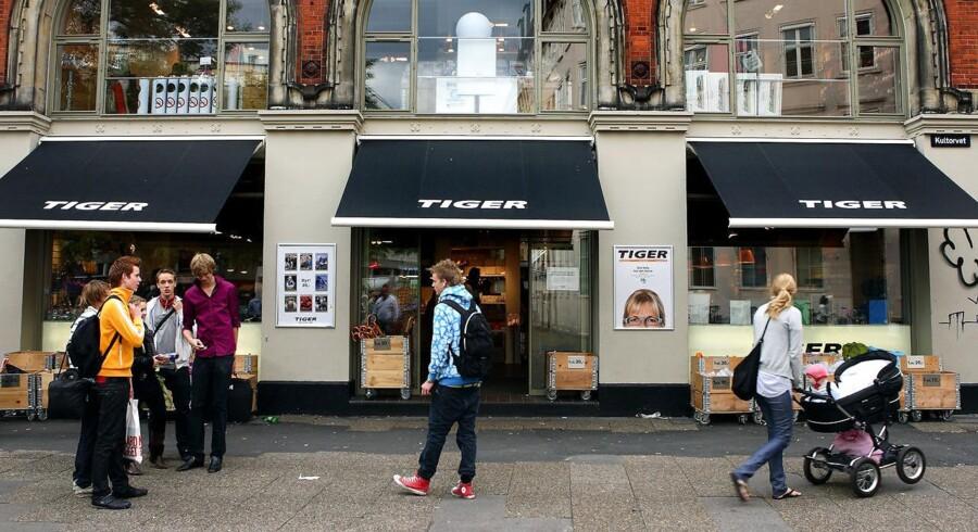 Tiger butik på Kultorvet.