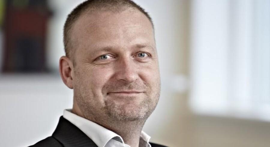 Kim Falkenhard nåede kun et enkelt kvartal som strategidirektør i Stofa. Nu forlader han selskabet. Foto: Stofa