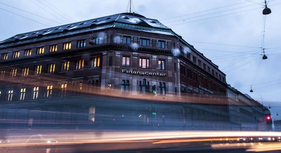 Danske Banks hovedkontor og Finanscenter ved Kongens Nytorv fotograferet d. 2 februar 2015.