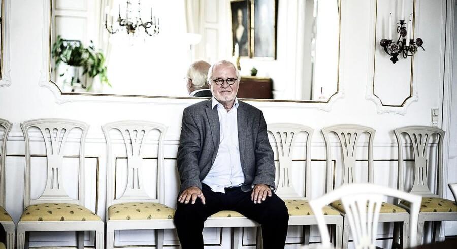 Johan Schlüter (billedet) er nu blevet sigtet af Bagmandspolitiet i sagen om svindel med rettighedsmidler.