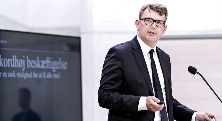 Beskæftigelsesminister Troels Lund Poulsen. (Foto: Bax Lindhardt/ Scanpix 2018)